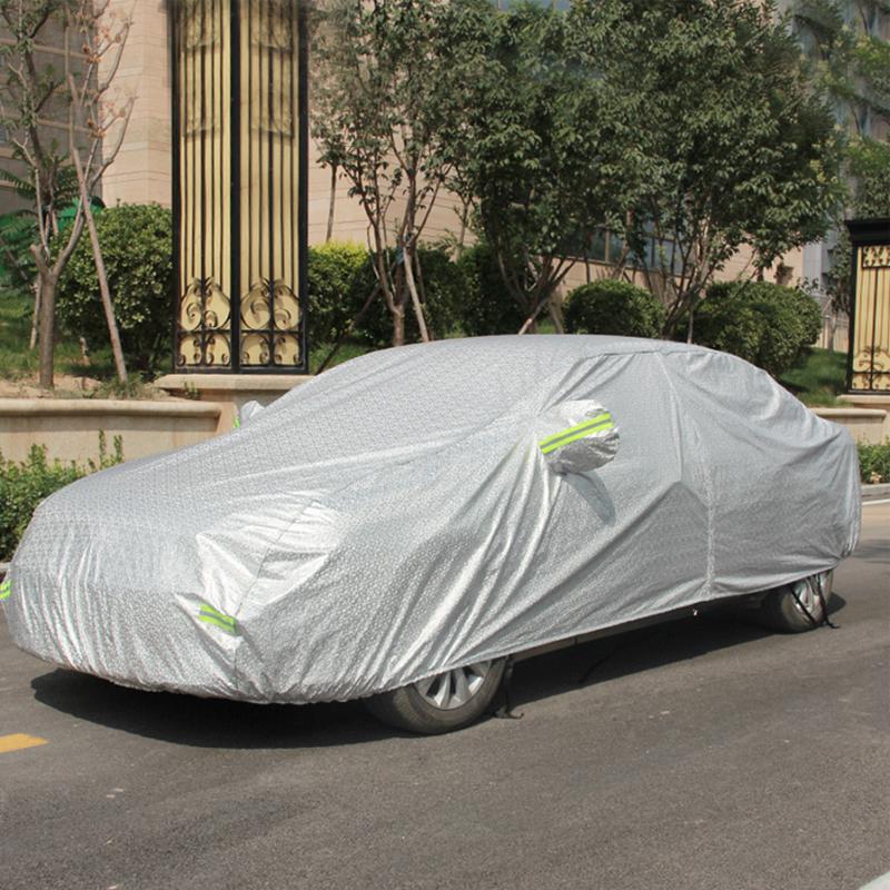 Bạt phủ ô tô chống nóng 3D tráng bạc 2 lớp cao cấp