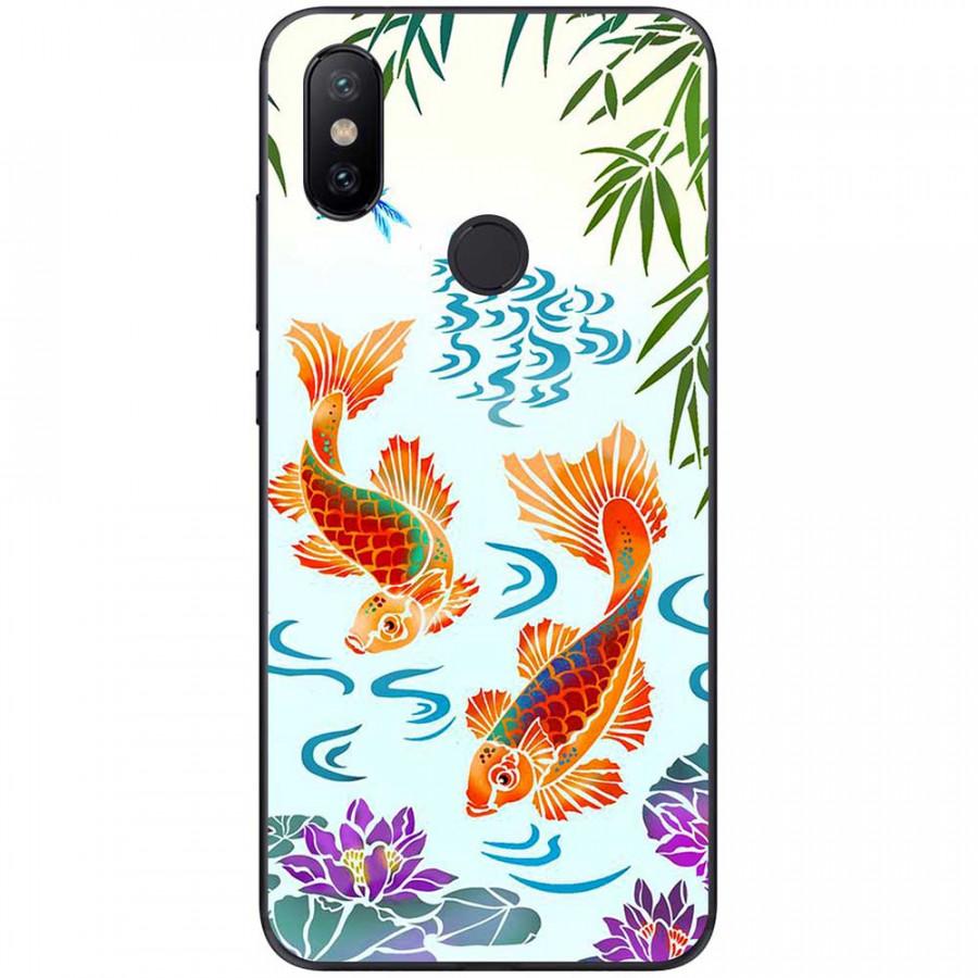 Ốp lưng dành cho Xiaomi Redmi Note 7 mẫu 2 cá chép, hoa sen tím - 20106646 , 2967144424612 , 62_20888535 , 150000 , Op-lung-danh-cho-Xiaomi-Redmi-Note-7-mau-2-ca-chep-hoa-sen-tim-62_20888535 , tiki.vn , Ốp lưng dành cho Xiaomi Redmi Note 7 mẫu 2 cá chép, hoa sen tím