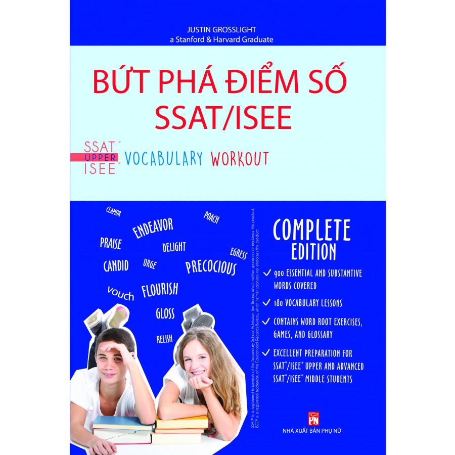 Bứt Phá Điểm Số Ssat/Isee - Vocabulary Workout For The Ssat/Isee - 1395188 , 5283647536476 , 62_12129996 , 199000 , But-Pha-Diem-So-Ssat-Isee-Vocabulary-Workout-For-The-Ssat-Isee-62_12129996 , tiki.vn , Bứt Phá Điểm Số Ssat/Isee - Vocabulary Workout For The Ssat/Isee