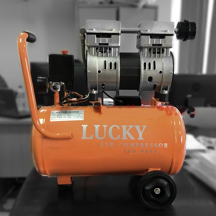 Máy nén khí không dầu oshima 24L lucky - 9577760 , 3211094120261 , 62_17494240 , 2350000 , May-nen-khi-khong-dau-oshima-24L-lucky-62_17494240 , tiki.vn , Máy nén khí không dầu oshima 24L lucky