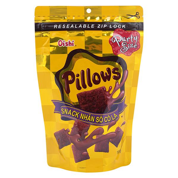 Bánh Snack Nhân Socola Oishi Pillows (100g) - 1027365 , 9943025421362 , 62_2986905 , 10000 , Banh-Snack-Nhan-Socola-Oishi-Pillows-100g-62_2986905 , tiki.vn , Bánh Snack Nhân Socola Oishi Pillows (100g)
