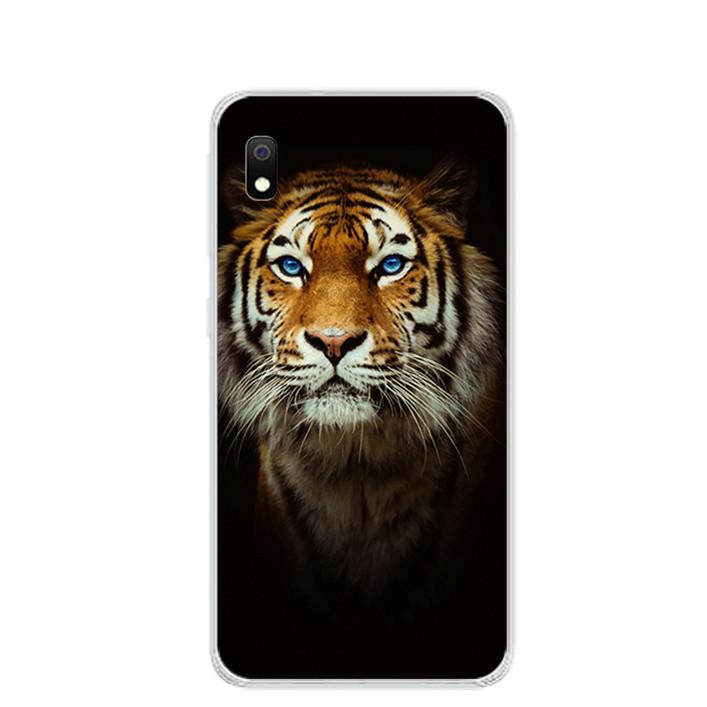 Ốp lưng dẻo cho điện thoại Samsung Galaxy A10 - 0300 TIGER03 - Hàng Chính Hãng
