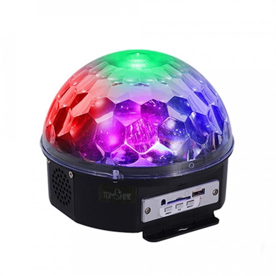 Tomshine Mini Rotating Magic Ball LED Light Multi Color Changes Sound Activated Auto Run Remote Control Dual Speakers - 1522481 , 3158298895024 , 62_15233616 , 551000 , Tomshine-Mini-Rotating-Magic-Ball-LED-Light-Multi-Color-Changes-Sound-Activated-Auto-Run-Remote-Control-Dual-Speakers-62_15233616 , tiki.vn , Tomshine Mini Rotating Magic Ball LED Light Multi Color Cha