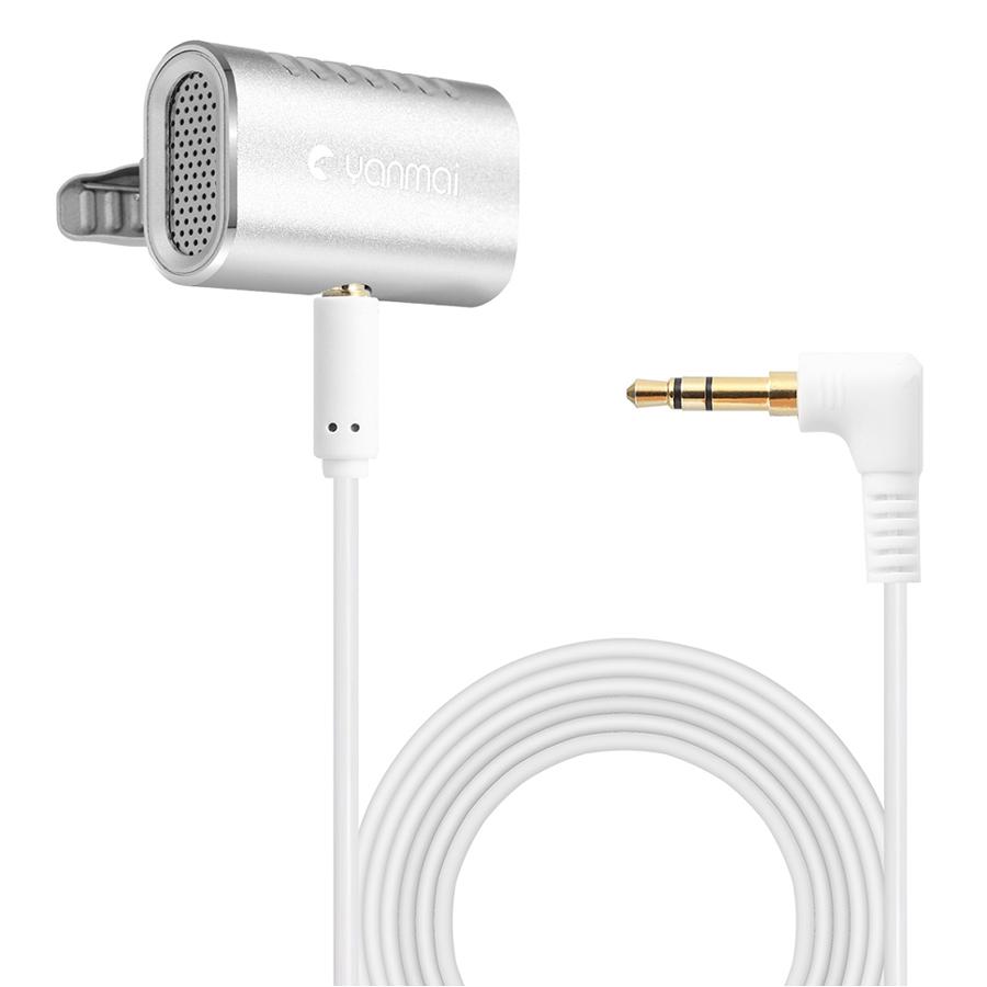 Yanmai Professional Lavalier Microphone ClipOn Mini Lapel Microphone Omnidirectional Condenser Mic - 1852303 , 8613156956248 , 62_14245501 , 688000 , Yanmai-Professional-Lavalier-Microphone-ClipOn-Mini-Lapel-Microphone-Omnidirectional-Condenser-Mic-62_14245501 , tiki.vn , Yanmai Professional Lavalier Microphone ClipOn Mini Lapel Microphone Omnidirec