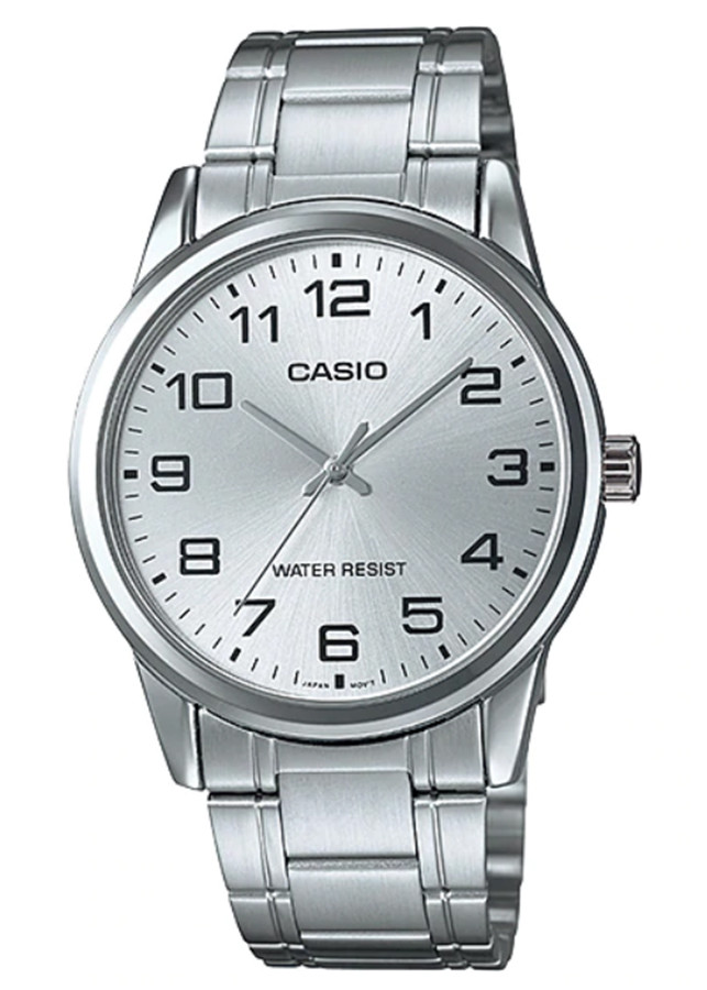 Đồng hồ nam dây kim loại Casio MTP-V001D-7BUDF