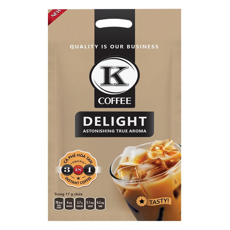 Cà Phê Hòa Tan K-Coffee Delight 3in1 (612g / Túi)