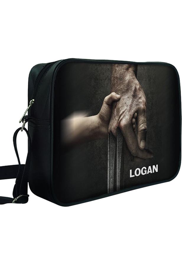 Túi Đeo Chéo Hộp Unisex In Hình Logan - TCFF329