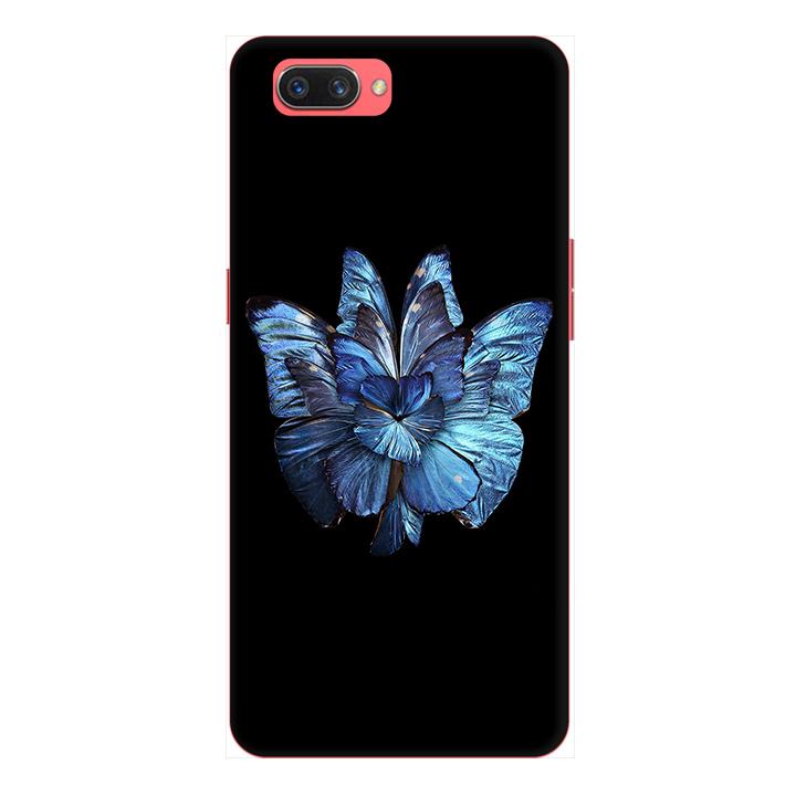 Ốp lưng điện thoại Realme C1 hình Bướm Xanh
