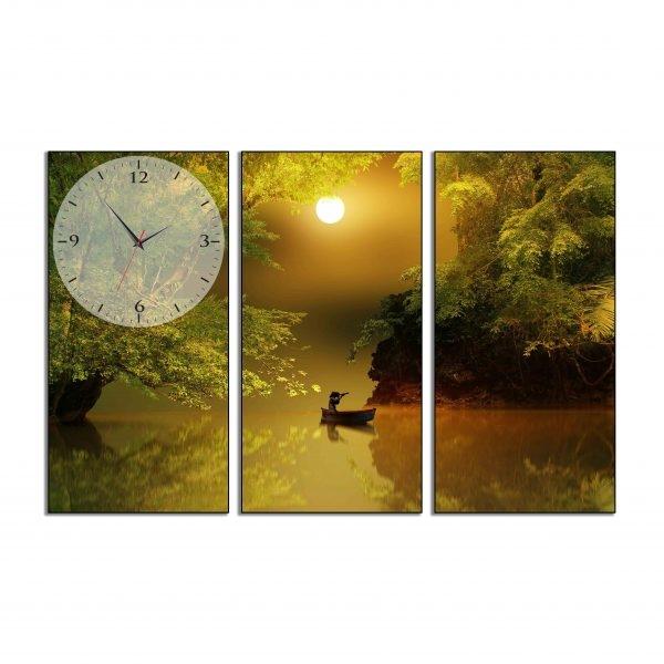 Tranh đồng hồ in Canvas Một mình khám phá - 3 mảnh - 4761627 , 7832774184234 , 62_10350047 , 717500 , Tranh-dong-ho-in-Canvas-Mot-minh-kham-pha-3-manh-62_10350047 , tiki.vn , Tranh đồng hồ in Canvas Một mình khám phá - 3 mảnh