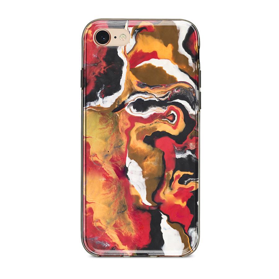 Ốp Lưng Điện Thoại Vân Đá Mika Cho iPhone 7 / 8 A-001-016-C-IP7