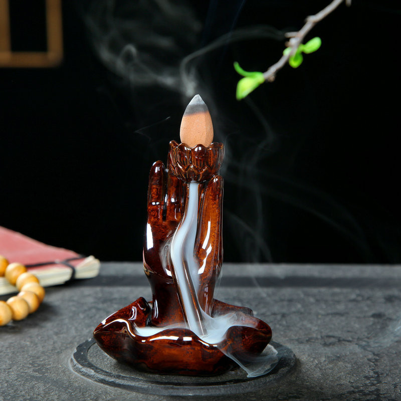 Thác khói trầm hương để bàn tặng 3 nụ trầm niêm hoa vi tiếu tay phật phật thủ màu nâu - 1215903 , 9783016288983 , 62_5144233 , 229000 , Thac-khoi-tram-huong-de-ban-tang-3-nu-tram-niem-hoa-vi-tieu-tay-phat-phat-thu-mau-nau-62_5144233 , tiki.vn , Thác khói trầm hương để bàn tặng 3 nụ trầm niêm hoa vi tiếu tay phật phật thủ màu nâu