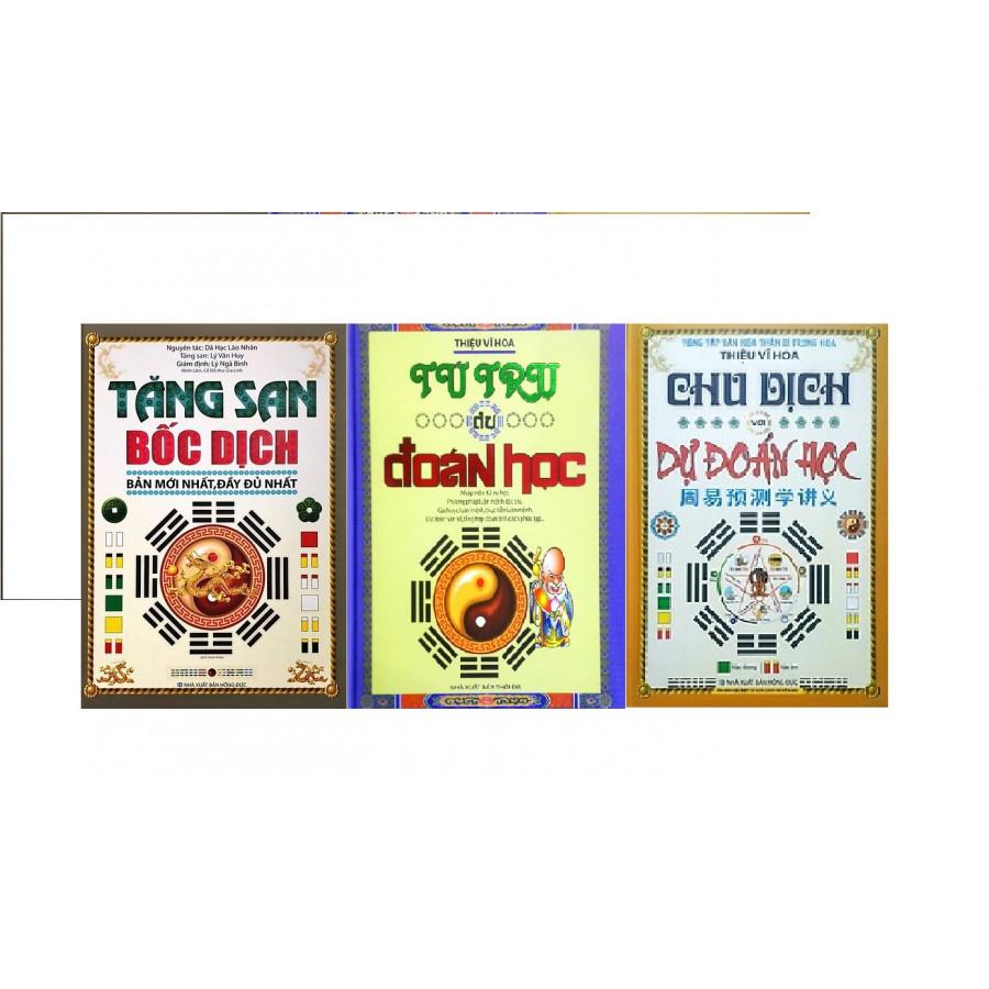 Combo 3 cuốn Tứ trụ dự đoán học, Tăng San bốc dịch, Chu dịch với dự đoán học 956 - 18492500 , 2154725181990 , 62_25241901 , 956000 , Combo-3-cuon-Tu-tru-du-doan-hoc-Tang-San-boc-dich-Chu-dich-voi-du-doan-hoc-956-62_25241901 , tiki.vn , Combo 3 cuốn Tứ trụ dự đoán học, Tăng San bốc dịch, Chu dịch với dự đoán học 956