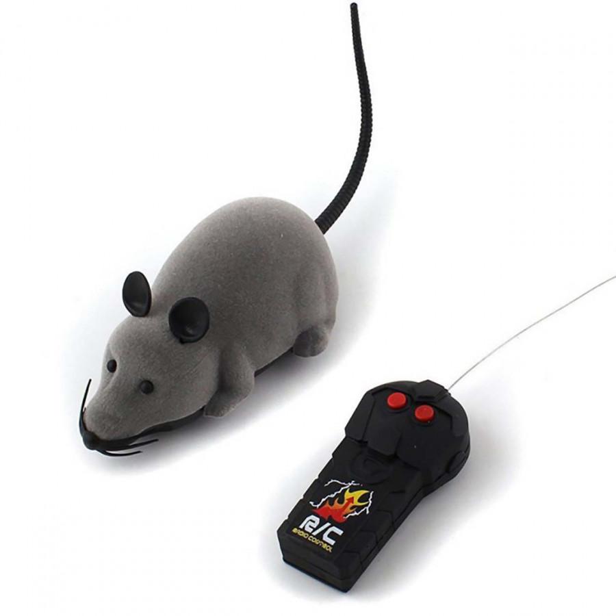 Đồ Chơi Chuột Điều Khiển Từ Xa Troll Chó Mèo (Giao Màu Ngẫu Nhiên)