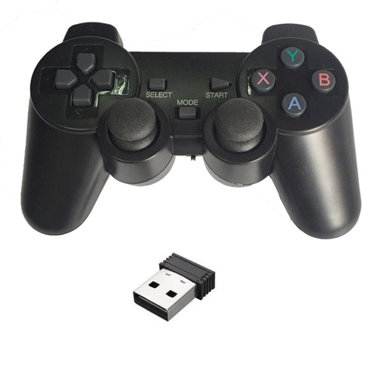 Tay cầm chơi game không dây có Rung cho máy tính, laptop, PS3, Android box - G706wd (hàng nhập khẩu) - 2351738 , 1168695496146 , 62_15339121 , 220000 , Tay-cam-choi-game-khong-day-co-Rung-cho-may-tinh-laptop-PS3-Android-box-G706wd-hang-nhap-khau-62_15339121 , tiki.vn , Tay cầm chơi game không dây có Rung cho máy tính, laptop, PS3, Android box - G706wd