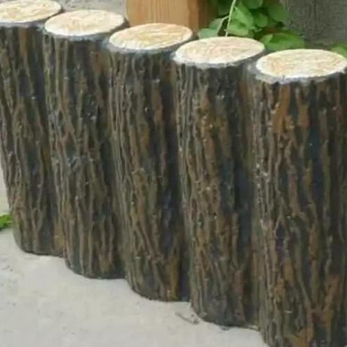 Khuôn mẫu đúc bờ kè lan can giả gỗ
