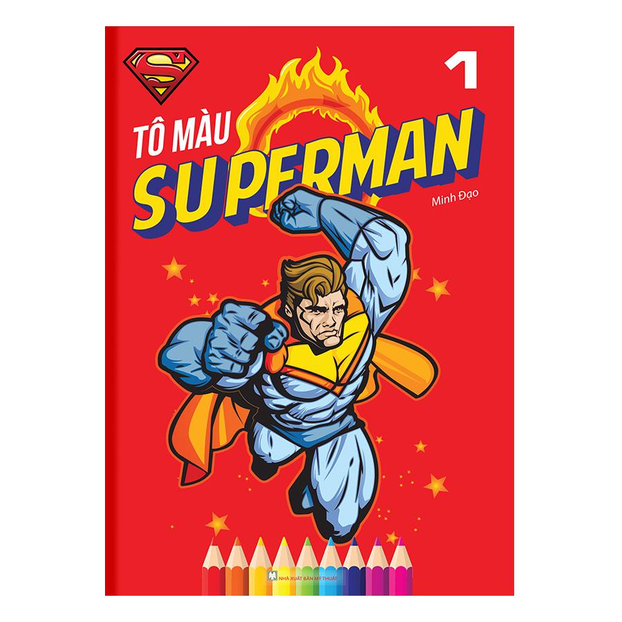 Tô Màu Superman Tập 1