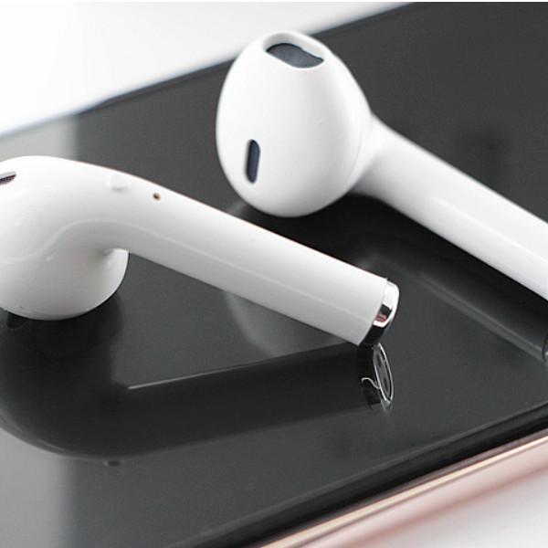 Tai nghe 2 tai Bluetooth không dây i8S cho IPhone, Android + Tặng móc dán siêu dính