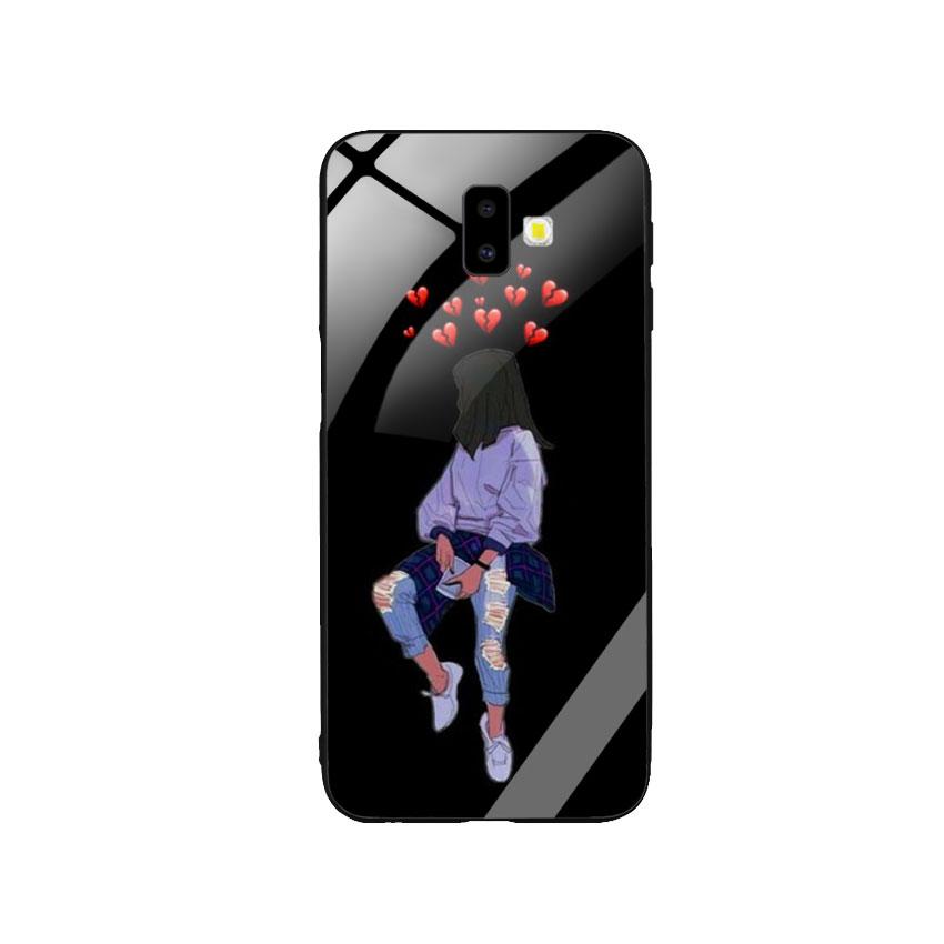 Ốp Lưng Kính Cường Lực cho điện thoại Samsung Galaxy J6 Plus - Alone 05
