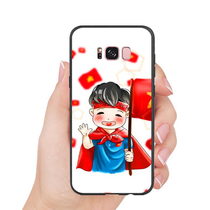Ốp Lưng Viền TPU Cho Samsung Galaxy S8 Plus - U23 Mẫu 6
