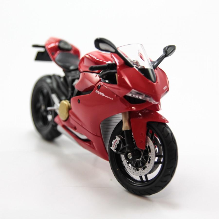 Mô hình xe Ducati 1199 Panigale Red 1:12 MAISTO MH-31101(20-11108)