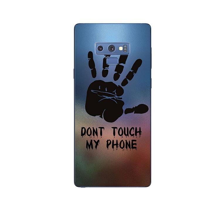 Ốp Lưng Dẻo Cho Điện thoại Samsung Galaxy Note 9 - Dont Touch My Phone
