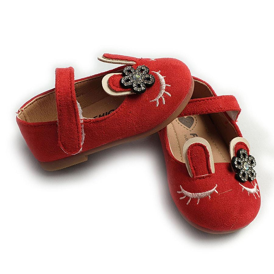 Giày búp bê bé gái hình chuột 1977