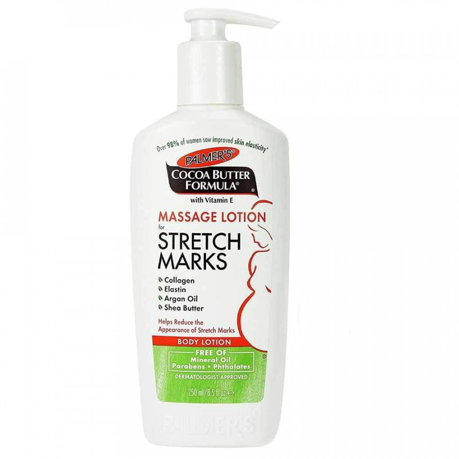 Lotion ngăn ngừa  giảm rạn da Cocoa Butter Formula Massage Lotion Stretch Marks - Palmer
