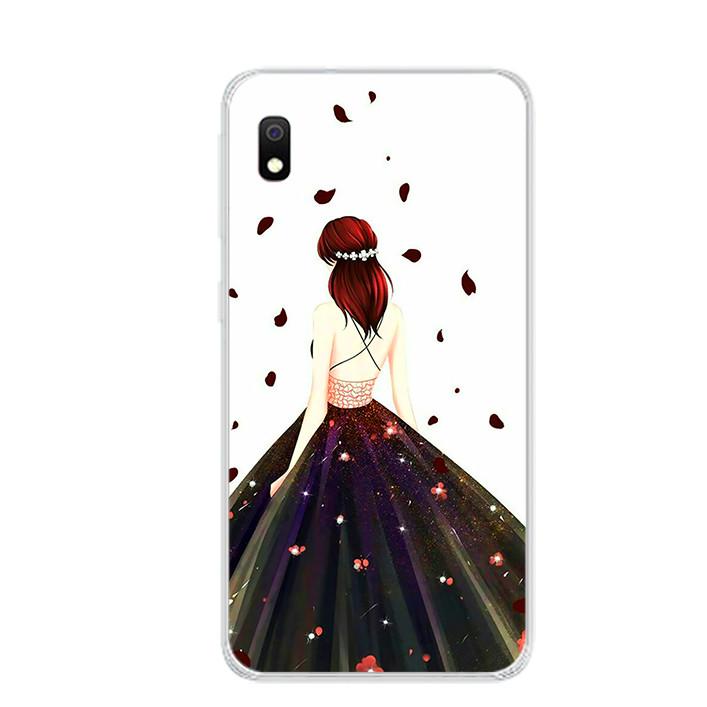 Ốp lưng dẻo cho điện thoại Samsung Galaxy A10 - 0106 GIRL03 - Hàng Chính Hãng
