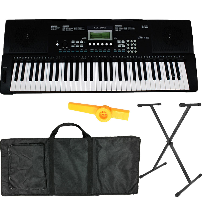 Bộ Đàn Organ Kurtzman K200 (Bàn Phím cảm ứng lực, Có Pitch Bend - KZM Touch Response Keyboard - Đàn, Chân, Bao, Nguồn, Kèn... - 18607335 , 7207934333379 , 62_21992892 , 4700000 , Bo-Dan-Organ-Kurtzman-K200-Ban-Phim-cam-ung-luc-Co-Pitch-Bend-KZM-Touch-Response-Keyboard-Dan-Chan-Bao-Nguon-Ken...-62_21992892 , tiki.vn , Bộ Đàn Organ Kurtzman K200 (Bàn Phím cảm ứng lực, Có Pitch