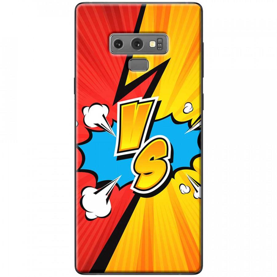 Ốp lưng dành cho Samsung Galaxy Note 9 mẫu VS đỏ vàng