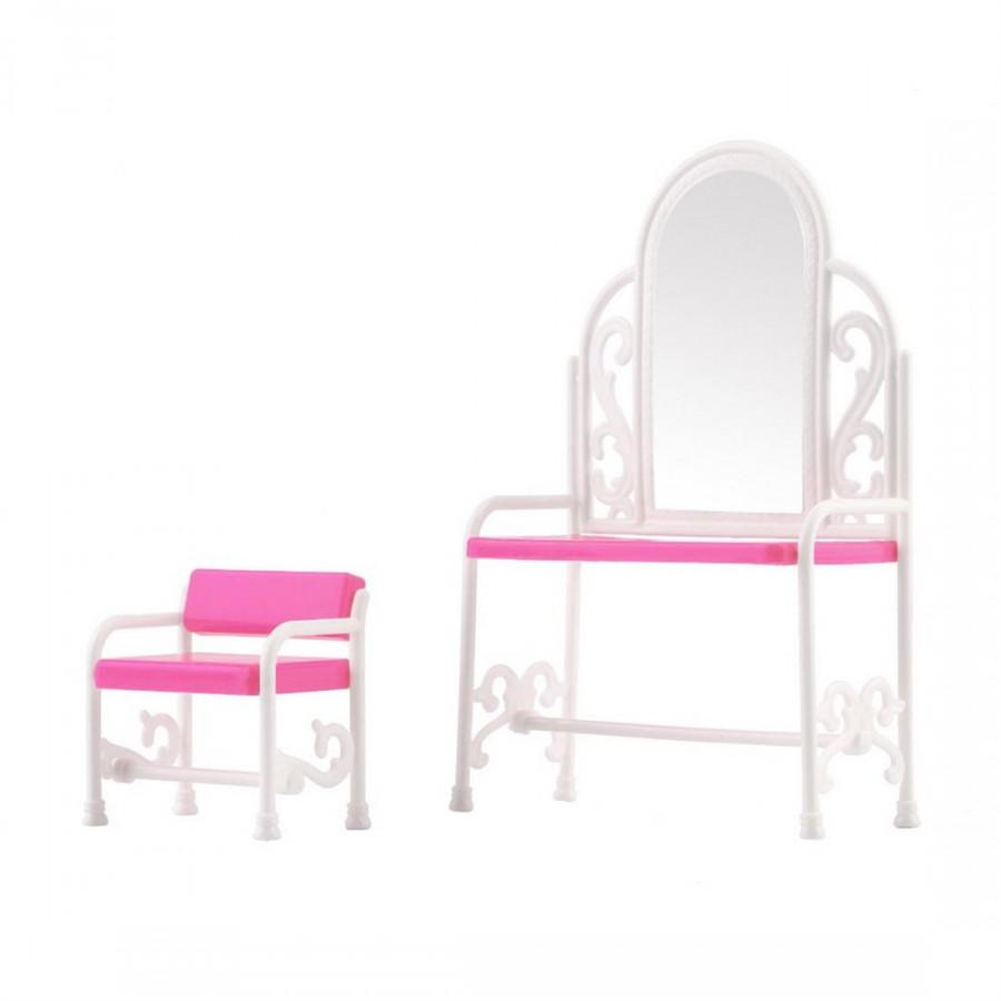 Barbie Dresser Makeup Chair
