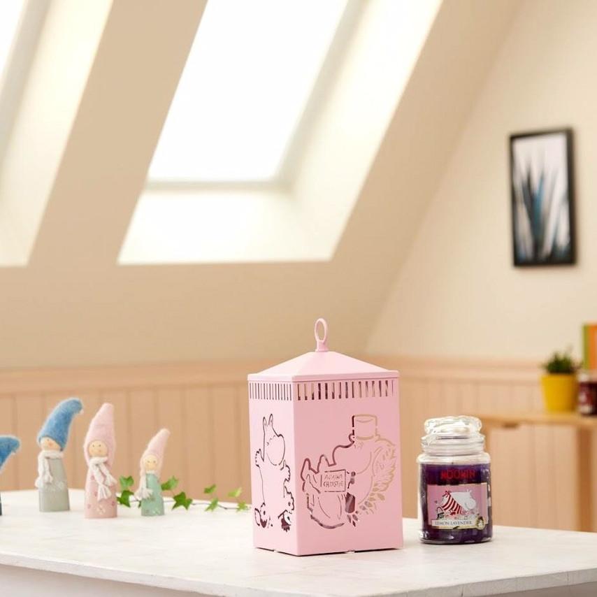 Đèn Đốt Nến Moomin Family - Pink