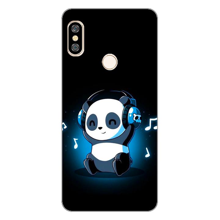 Ốp lưng dẻo cho điện thoại Xiaomi Redmi Note 5_Panda 05