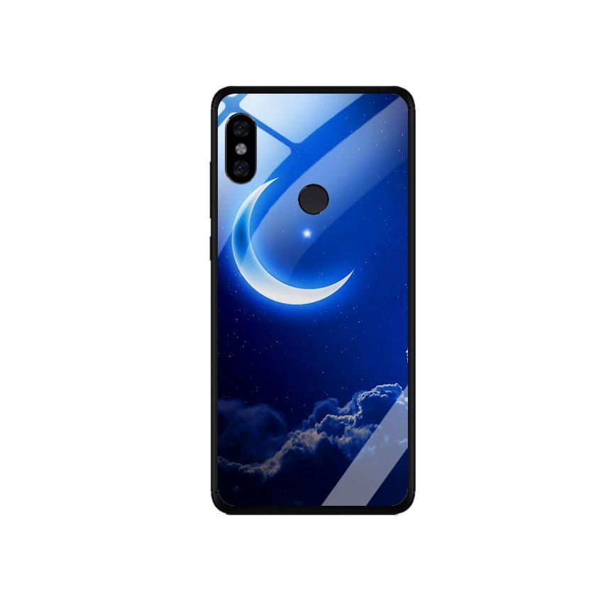 Ốp Lưng Kính Cường Lực cho điện thoại Xiaomi Redmi Note 5 - 0220 MOON01