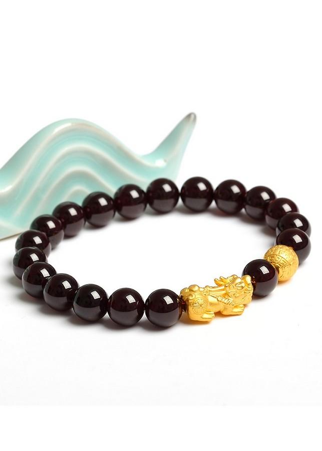 Lắc nam opal đen tự nhiên tỳ hưu bạc mạ vàng 24K - 2015836 , 1131808109691 , 62_15050957 , 1580000 , Lac-nam-opal-den-tu-nhien-ty-huu-bac-ma-vang-24K-62_15050957 , tiki.vn , Lắc nam opal đen tự nhiên tỳ hưu bạc mạ vàng 24K