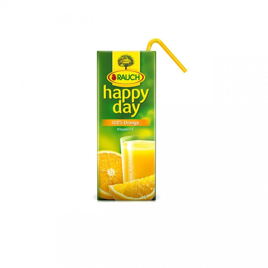 Nước Ép Cam nguyên chất 100% Rauch - Happy Day 200ml