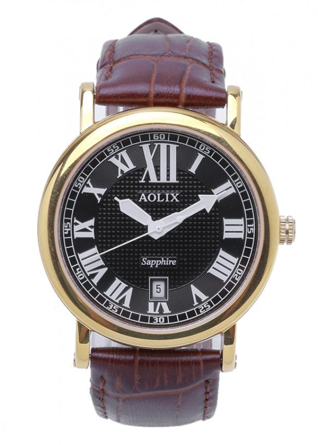Đồng hồ AOLIX N-9109M nam dây da
