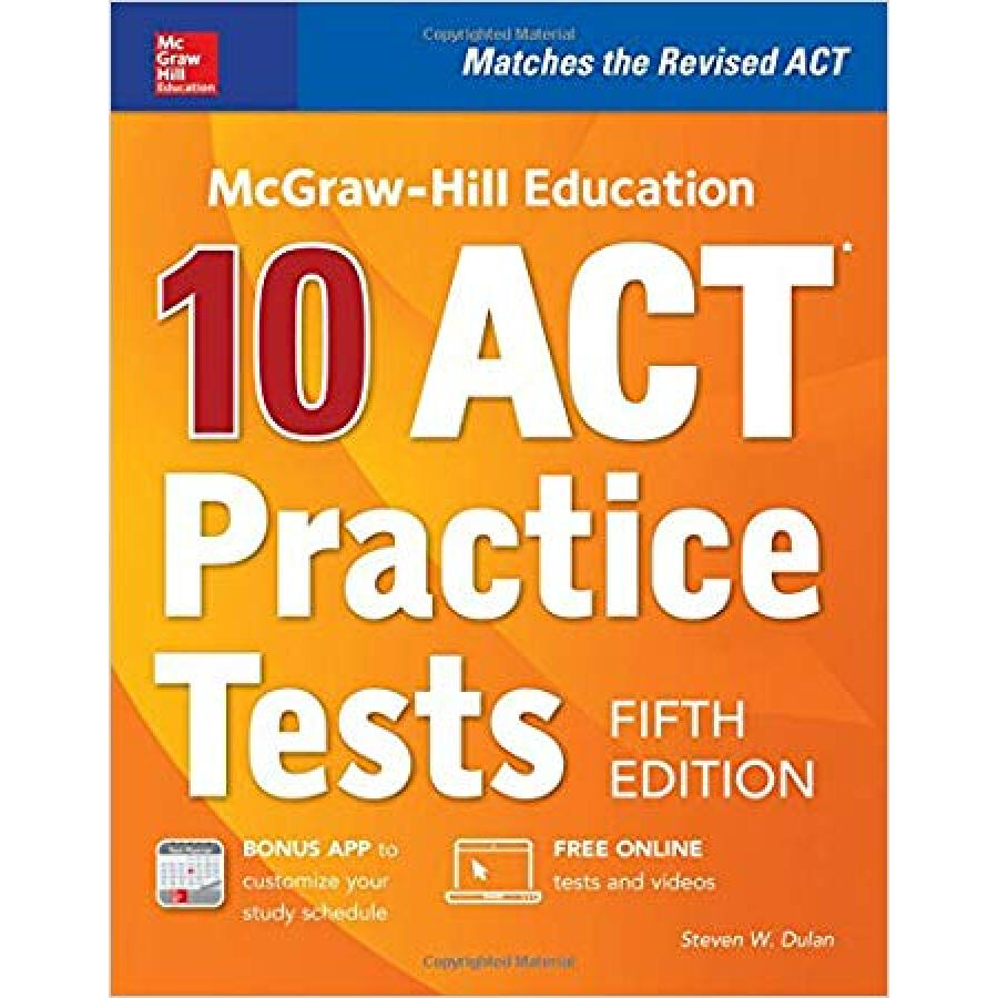 MCGRAW-HILL EDUCATION: 10 ACT PRACTICE TESTS FI - 1232875 , 4572434891029 , 62_5257081 , 538000 , MCGRAW-HILL-EDUCATION-10-ACT-PRACTICE-TESTS-FI-62_5257081 , tiki.vn , MCGRAW-HILL EDUCATION: 10 ACT PRACTICE TESTS FI