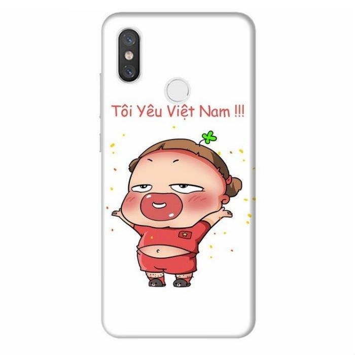 Ốp Lưng Dành Cho Xiaomi Mi 8 Quynh Aka 1