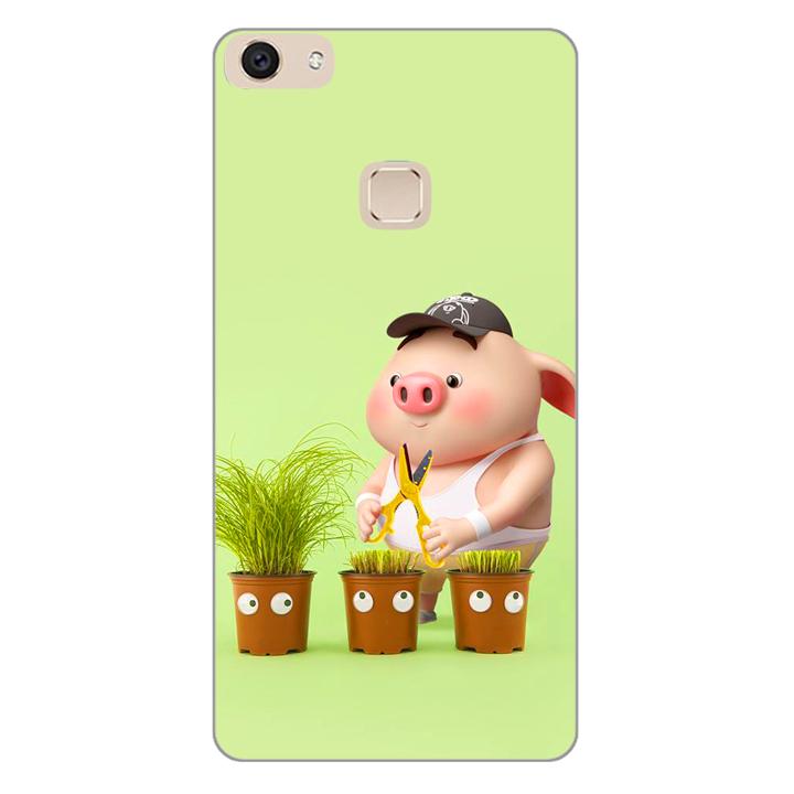 Ốp lưng dành cho điện thoại Vivo V7 - V7 PLUS - Y83 - Pig 21