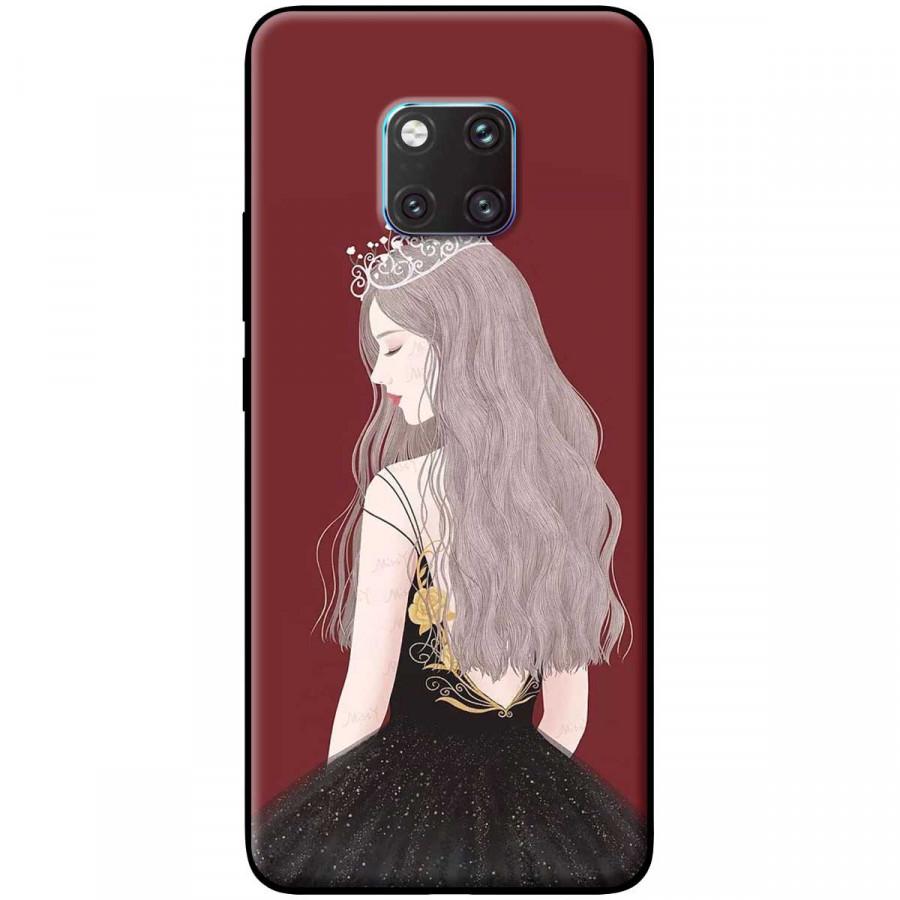 Ốp lưng dành cho điện thoại MATE 20 Pro Mẫu Nữ hoàng