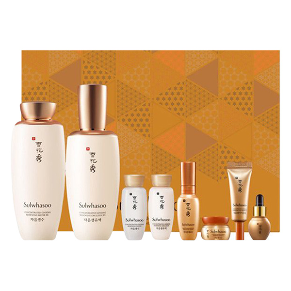 Sulwhasoo Concentrated Ginseng 2 Item Gift Set - 1291348 , 4337917358488 , 62_13861446 , 3246000 , Sulwhasoo-Concentrated-Ginseng-2-Item-Gift-Set-62_13861446 , tiki.vn , Sulwhasoo Concentrated Ginseng 2 Item Gift Set