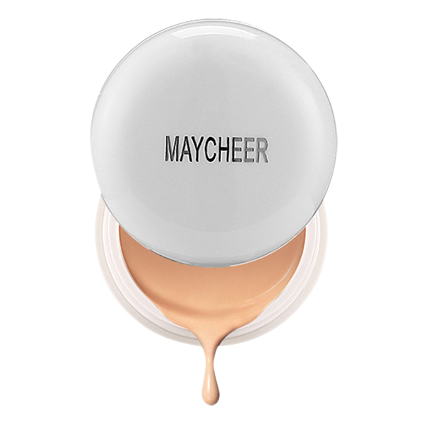 MAYCHEER Super-Blendable Concealer Makeup Cream Make Up Dark Circle Acne Spots Freckle Concealer 130# ivory white
