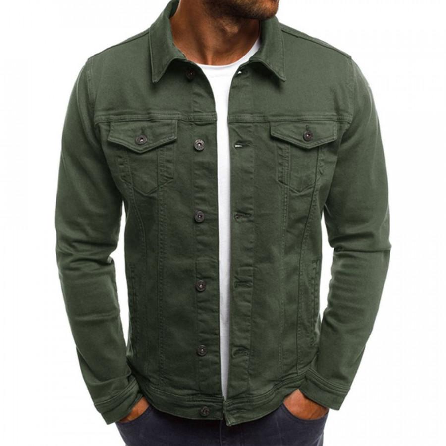 Denim Jacket Long Sleeve Vintage Jackets Cotton Coats Sport