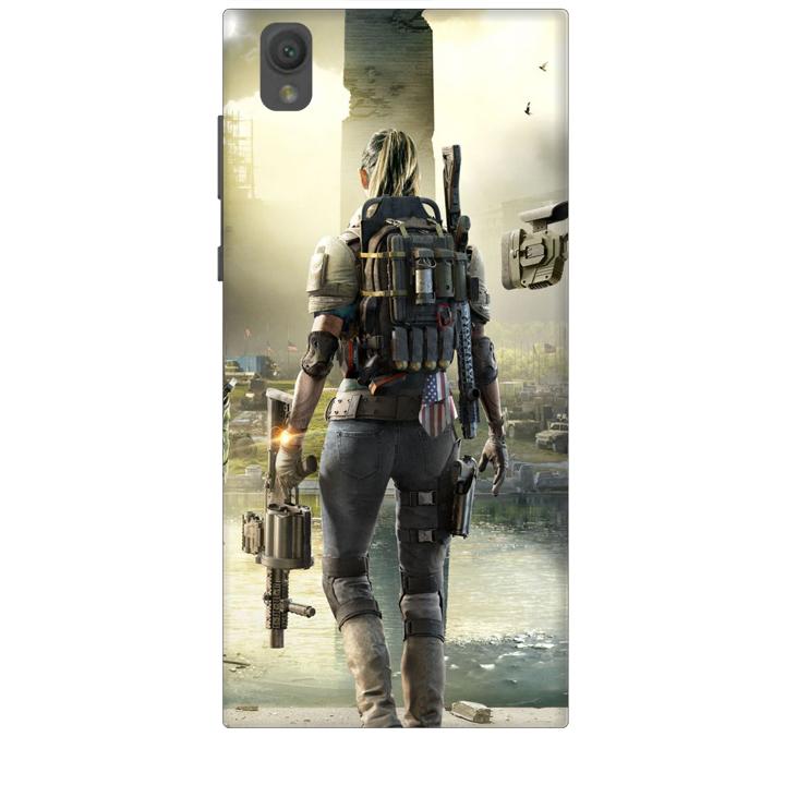 Ốp lưng dành cho điện thoại SONY L1 hinh PUBG Mẫu 04