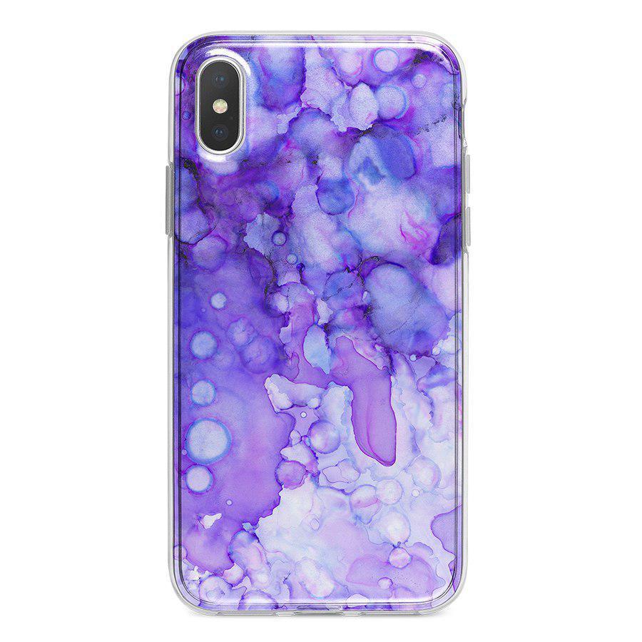 Ốp Lưng Điện Thoại Vân Đá Cho iPhone X A-001-015-C-IPX