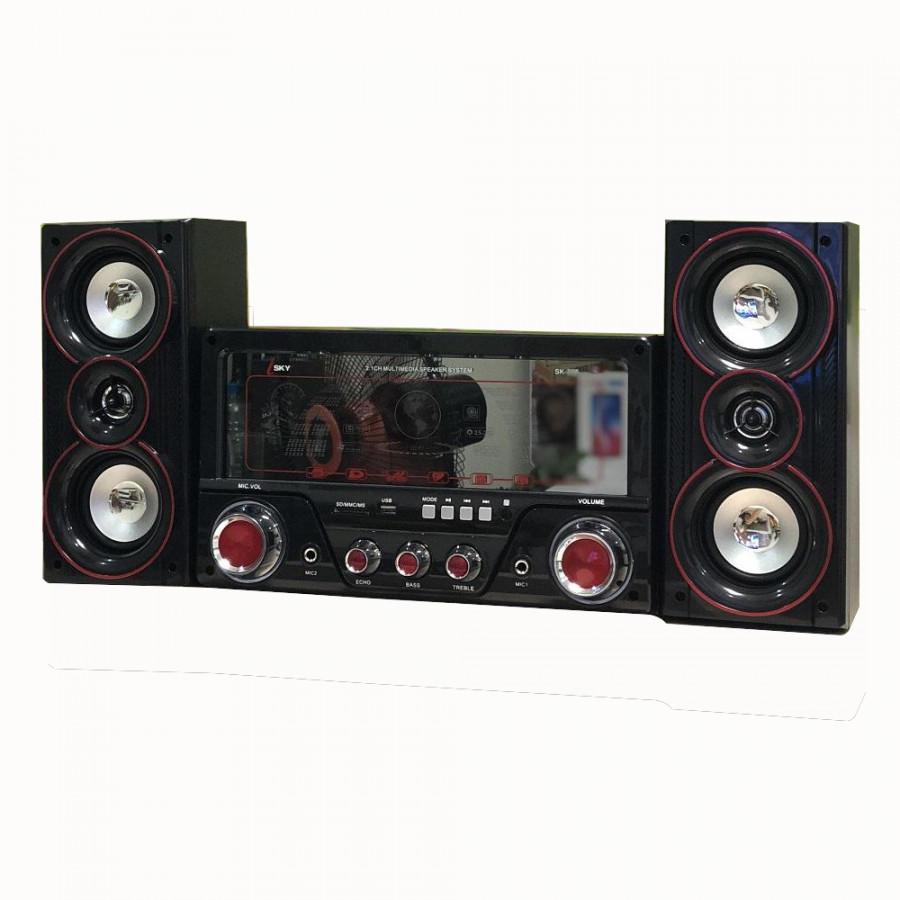Dàn âm thanh tại nhà - loa vi tính cỡ lớn hát karaoke có kết nối Bluetooth USB Isky - SK335 2.1 - 1607153 , 3781749091005 , 62_10840707 , 1550000 , Dan-am-thanh-tai-nha-loa-vi-tinh-co-lon-hat-karaoke-co-ket-noi-Bluetooth-USB-Isky-SK335-2.1-62_10840707 , tiki.vn , Dàn âm thanh tại nhà - loa vi tính cỡ lớn hát karaoke có kết nối Bluetooth USB