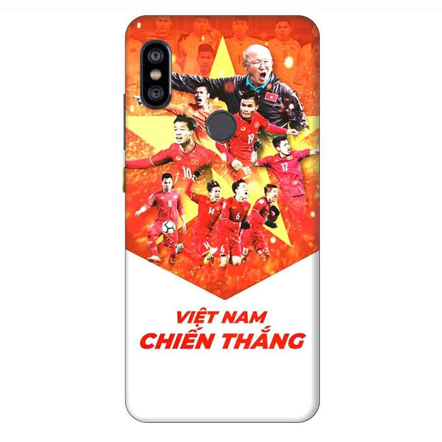 Ốp Lưng Dành Cho Xiaomi Note 6 Pro AFF Cup Đội Tuyển Việt Nam - Mẫu 4