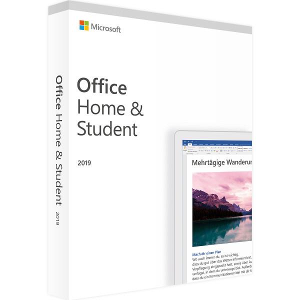 Phần mềm Microsoft Office Home and Student 2019 (Bản vĩnh viễn)  - Hàng chính hãng