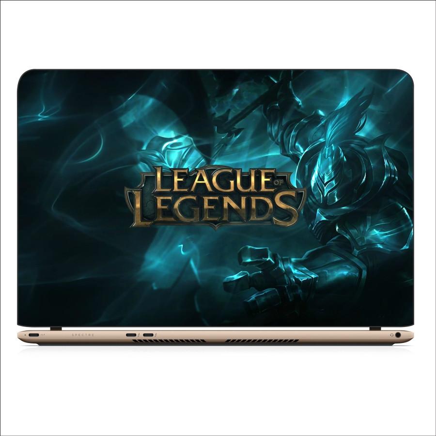 Miếng Dán Skin In Decal Dành Cho Laptop - Liên Minh Huyền Thoại 1